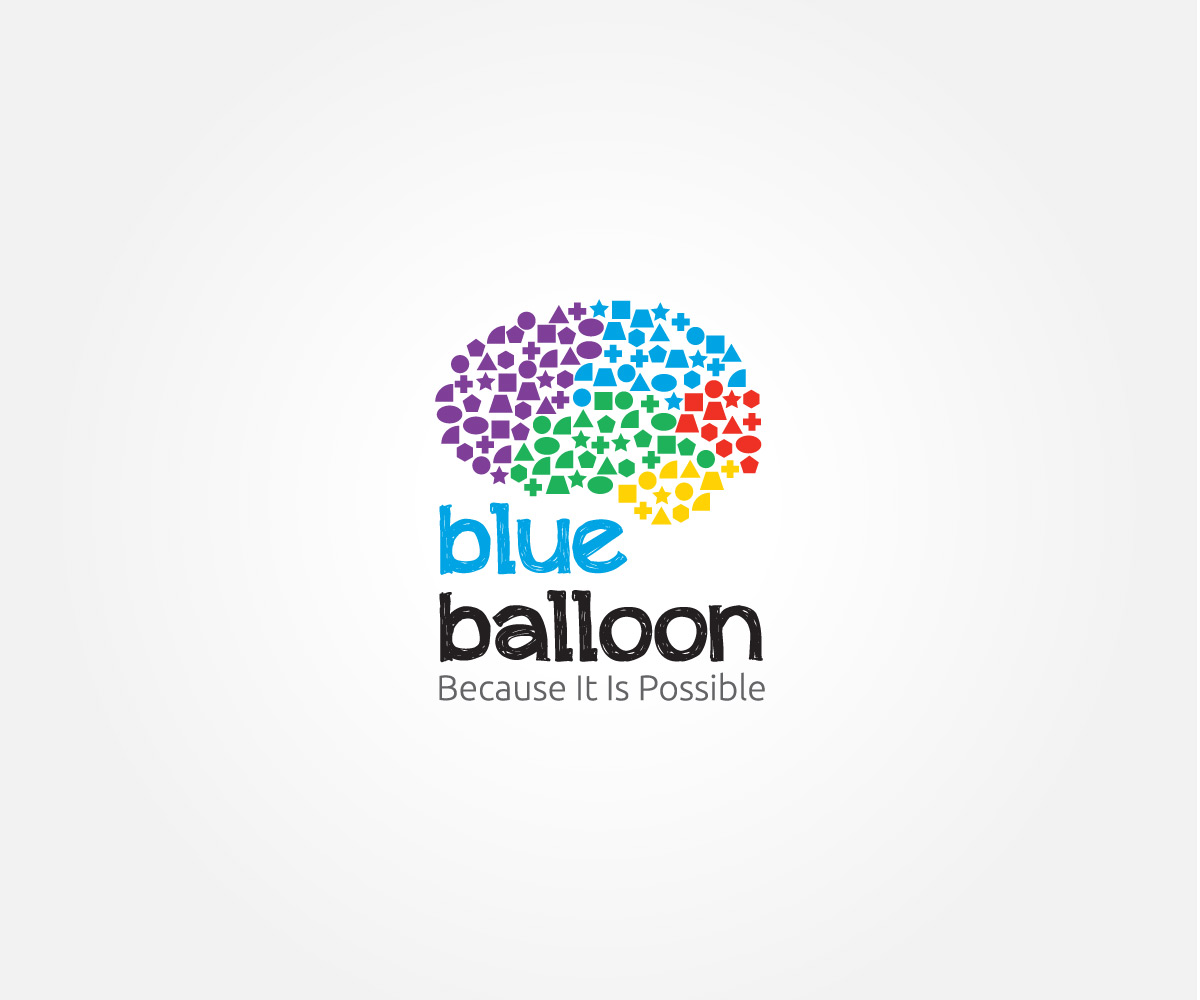 Blue Balloon Jessica Zoet Graphic Design Illustration